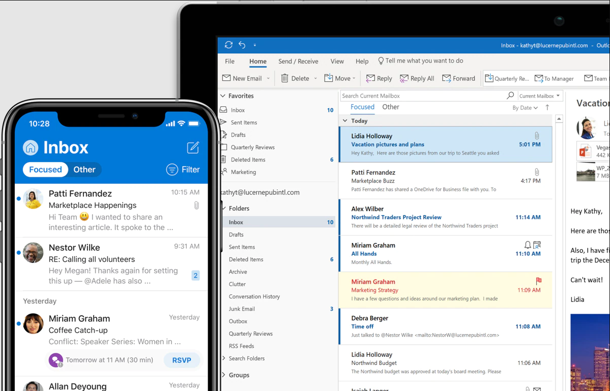 Some Features In Outlook 2010
