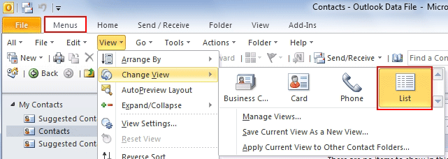 Do you know how to find an Outlook contact file?