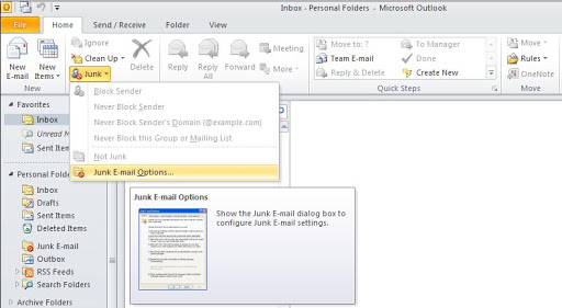 How To Set The Security Zone In Outlook 2007