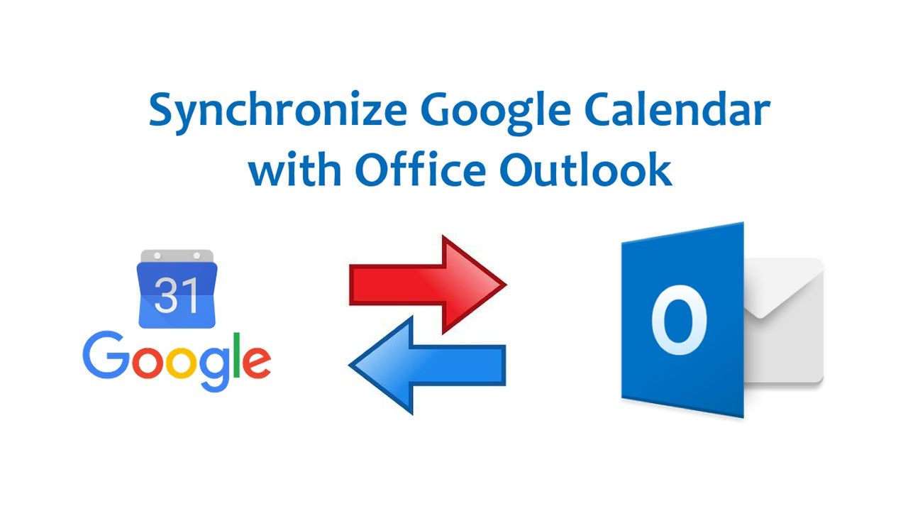 Linking Outlook And Gmail Calendars