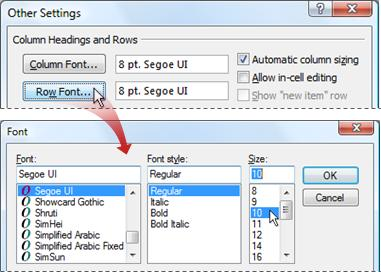 Tutorial To Make Outlook Inbox Fonts Smaller